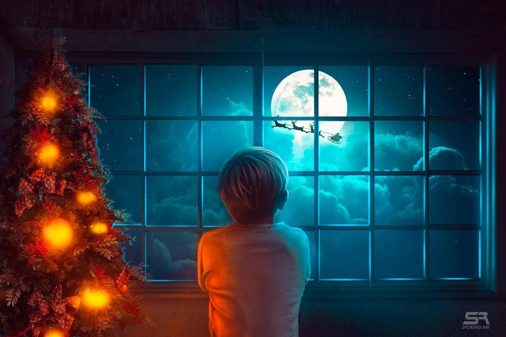 Waiting for Santa! by SubhaSporsho
