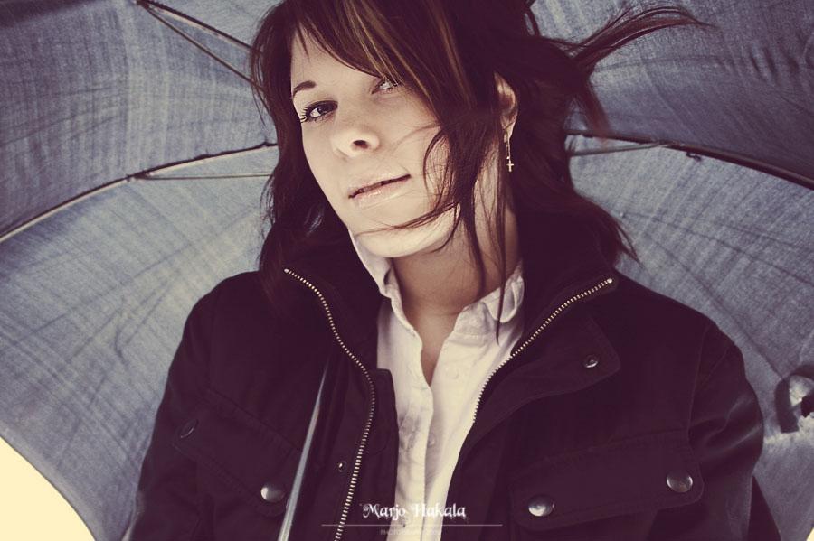 Under my umbrella. by MUA-Maano