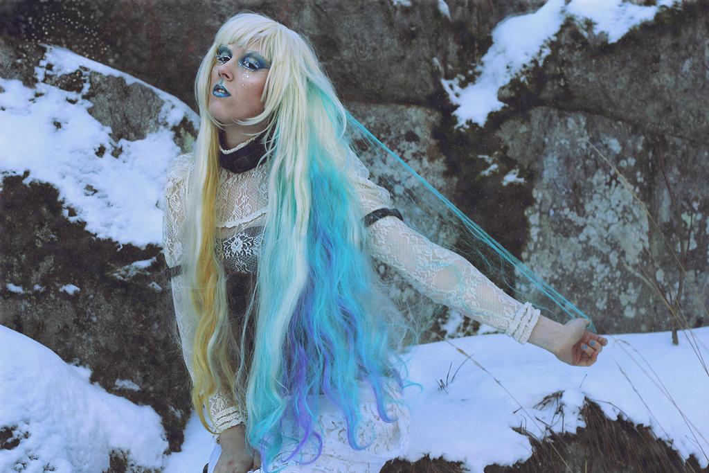 Rainbow hair by MUA-Maano