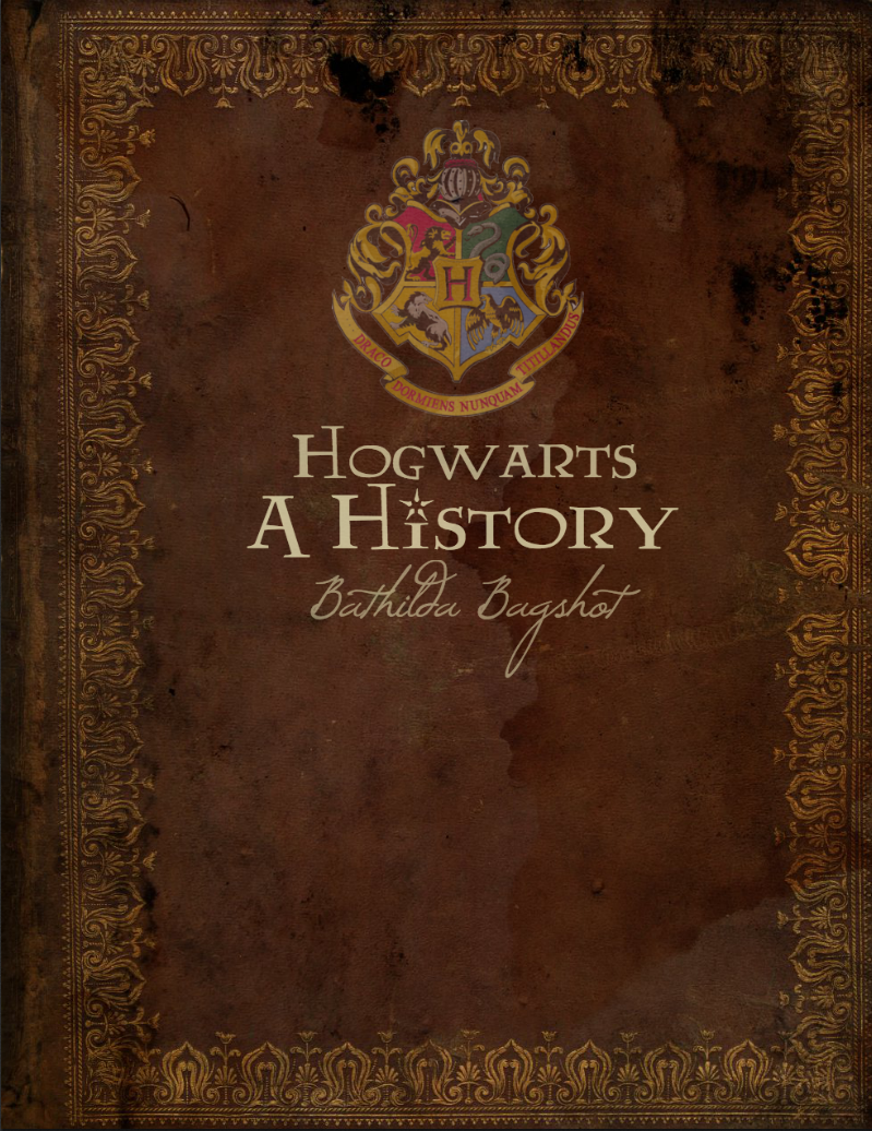 Harry Potter Book Cover Creator : Hogwarts a history textbook cover by katelynphotography on