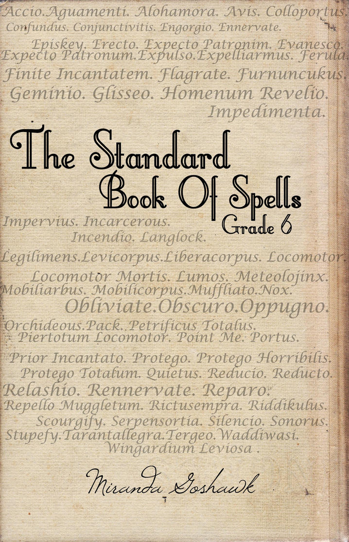 Harry Potter Book Level : The standard book of spells grade by