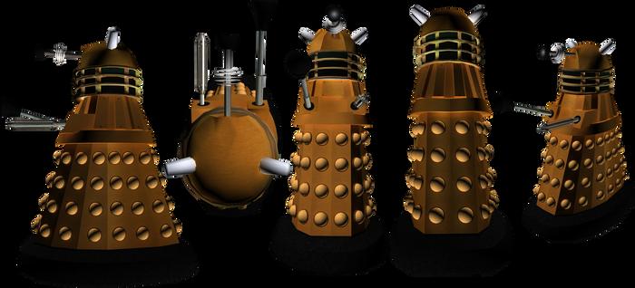 9th Doctor Era Dalek