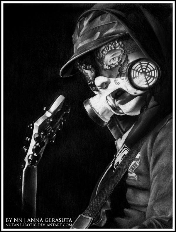 J-Dog of Hollywood Undead by NutaNeurotic