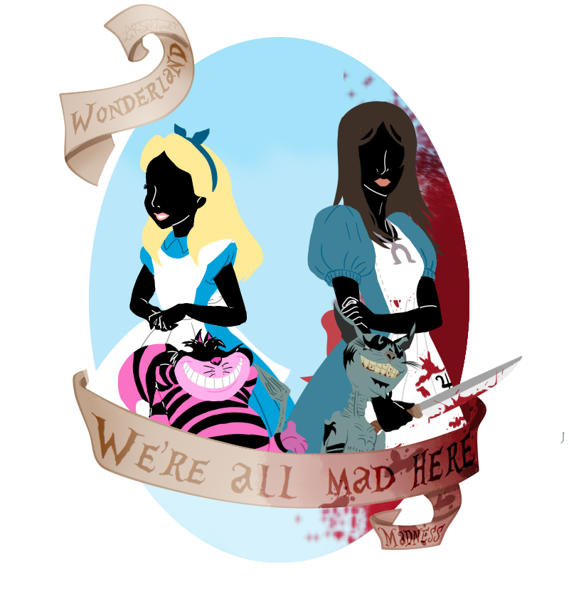 Wonderland or Madness ? - We're all mad here by LittleSekhmet