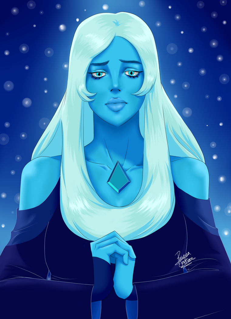 Hey again! This time is the turn for Blue Diamond, I really like this character even though my fav still is Garnet. Hope you like it! Disclaimer: This character belongs to Rebecca Sugar