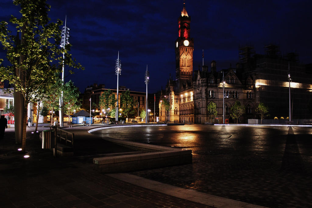Bradford City Park At Night By HonorataWicko On DeviantArt