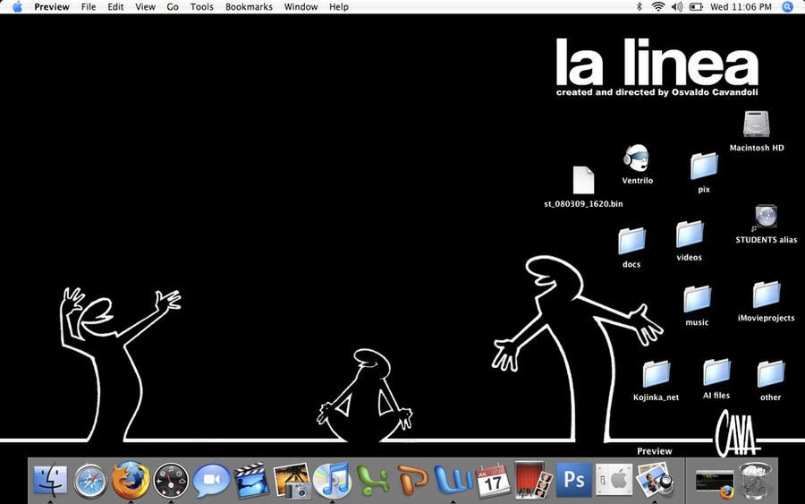 La Linea Desktop by KojinkaLuigiGodzilla