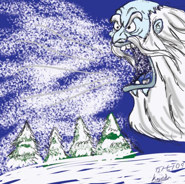 Old Man Winter's Rage