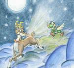 Yoshi's Christmas Flight