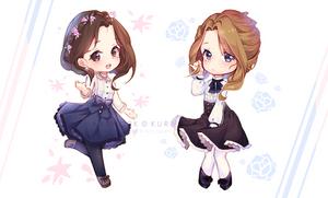 Commission - Sisterhood by Kuri-Nyann