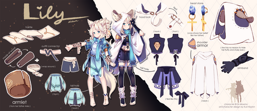 (+Video) Commission - Reference sheet: Warrior