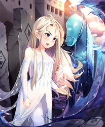 (+Video) Fanart - Frozen Elsa The Savior
