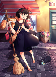 (+Video) Fanart - Kiki's Delivery Service2