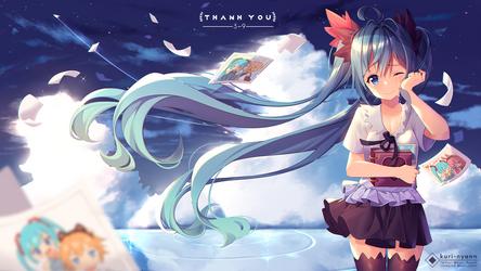 Fanart - Hatsune Miku 39 by Kuri-Nyann