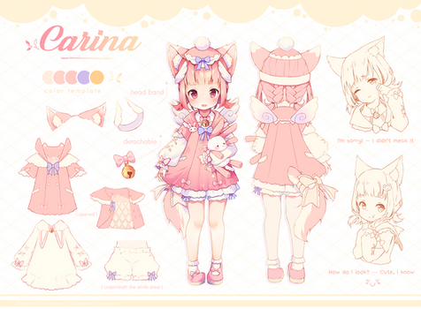 Commission - Ref.Sheet Carina