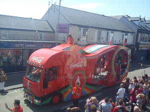 Coco-cola van for the Olympics!