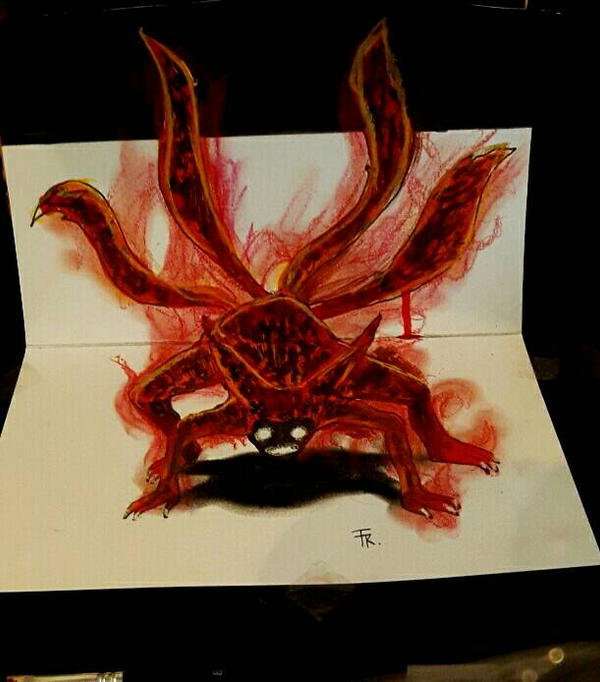 Naruto 4 tailed beast (video available soon) by Yakise on ...