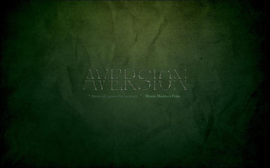 Aversion by YaaraVanesse