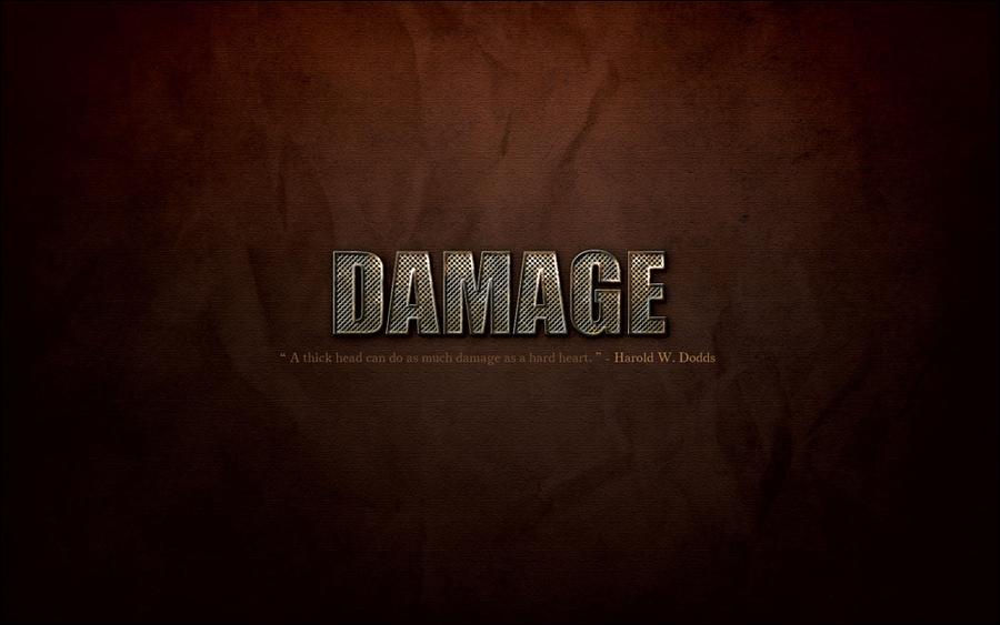Damage by YaaraVanesse