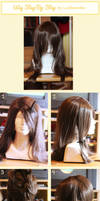 Step-by-step wig tutorial