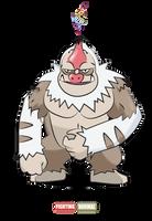 #289 Mega Slaking by Otchono