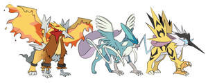 Pokemon - Legendary Gryphons