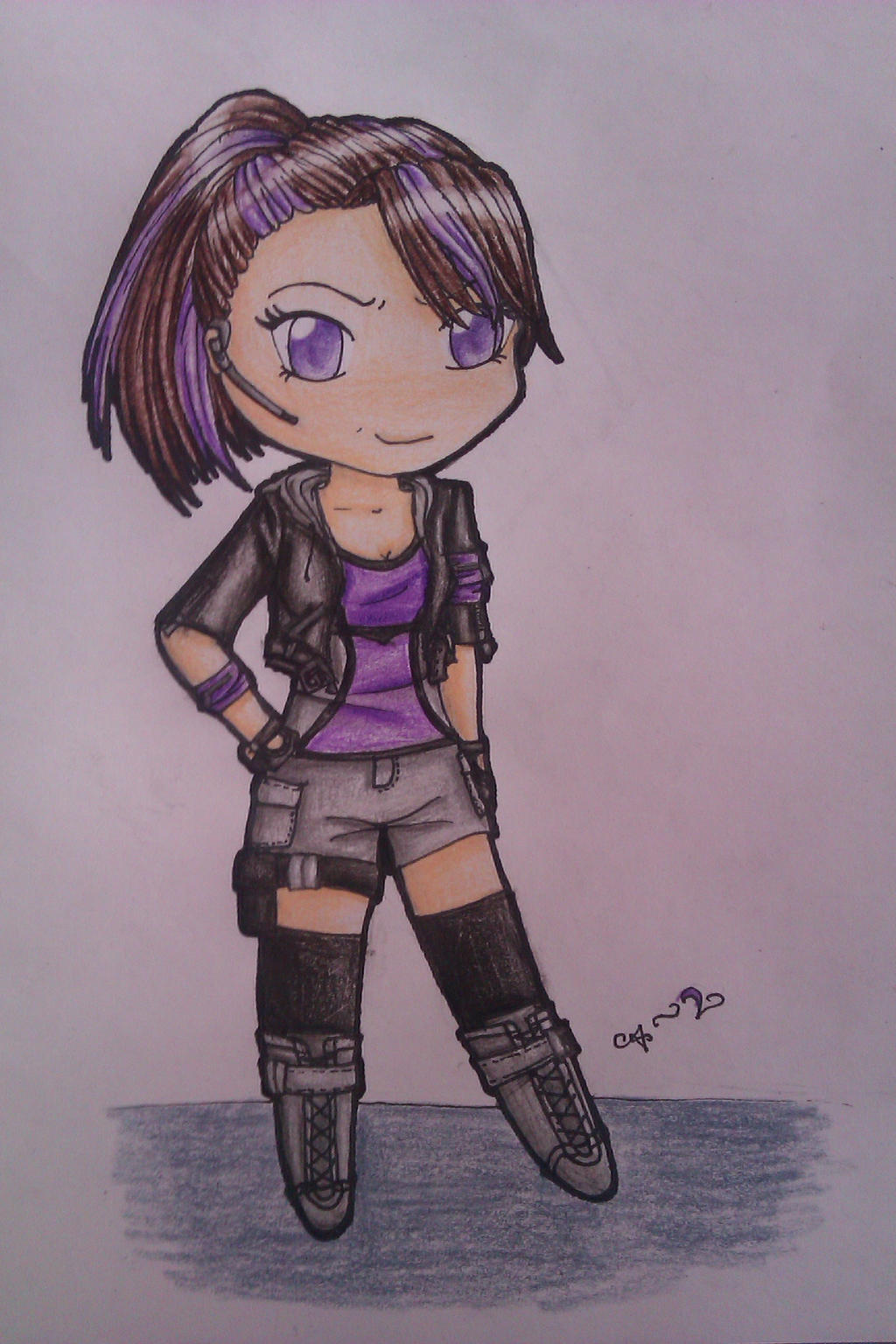 Chibi spy girl by daisukifashion on DeviantArt