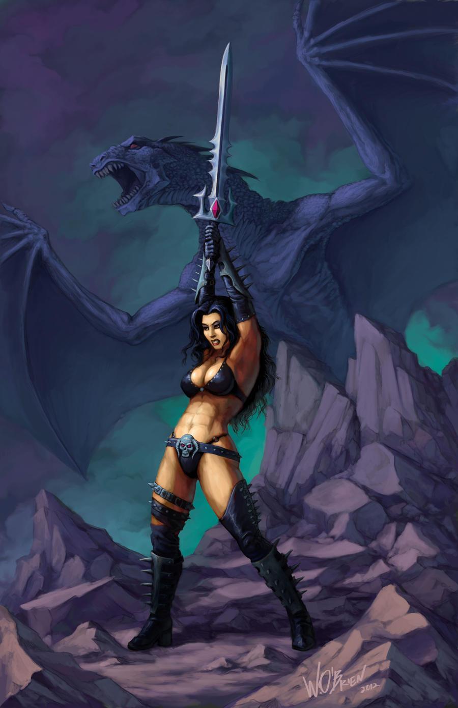 Dark Dragonsword by WillOBrien