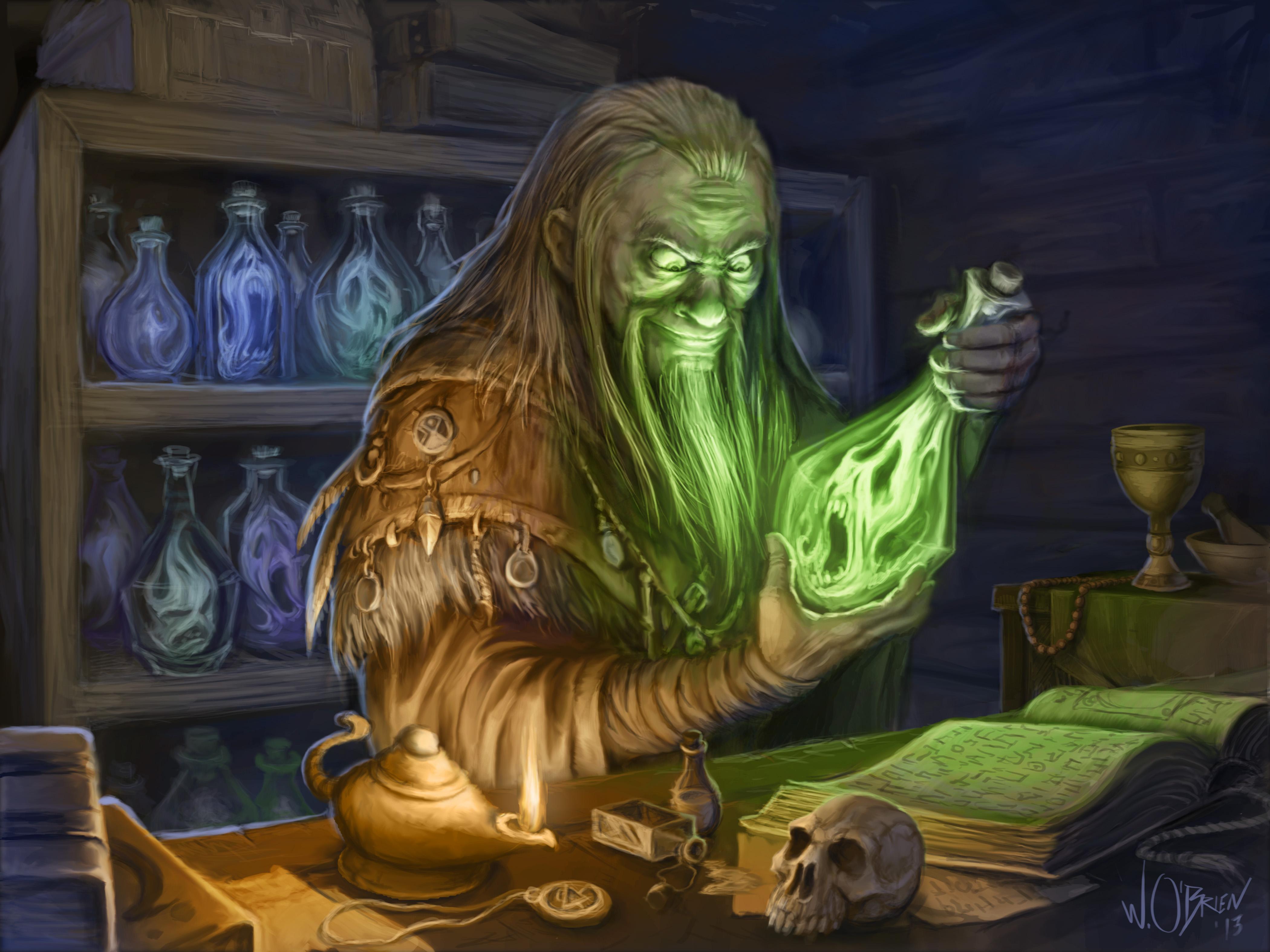 Sorcerer's Souls by WillOBrien