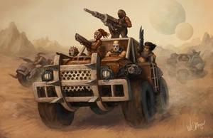 Thrakis Gang by WillOBrien
