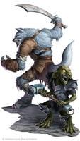 Battle Axe : Wulfir and Goblin
