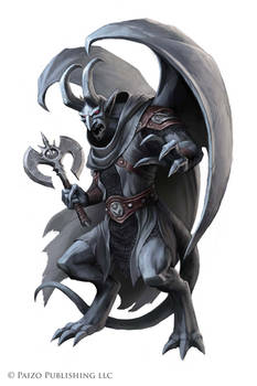 Pathfinder: Adamantine Clan Gargoyle