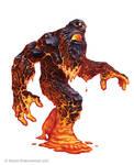 Pathfinder: Dwarven lava Undead