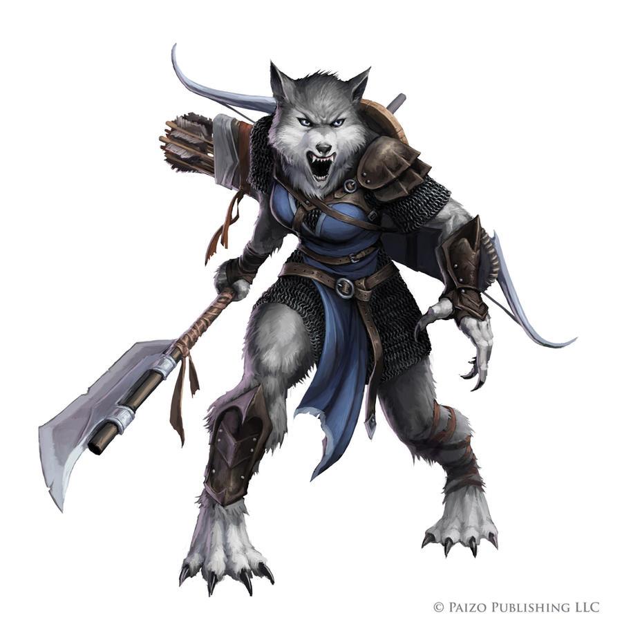 Pathfinder: Silverblood werewolf