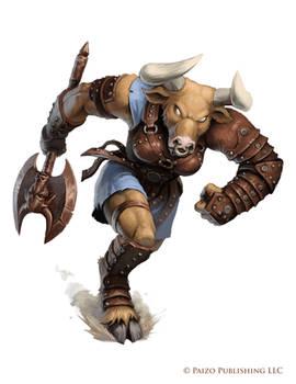 Pathfinder: Minotaur Kortos Marauder