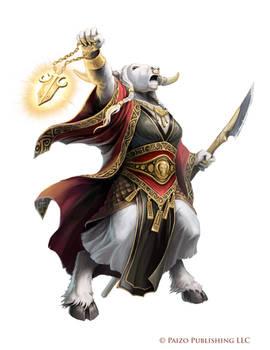 Pathfinder: Minotaur Prophet of Baphomet