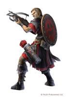 Pathfinder: Menador Soldier by WillOBrien