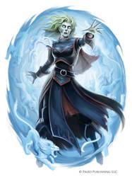 Pathfinder: Tiarise Izoni (Ghost Version) by WillOBrien