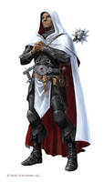 Pathfinder: Milani Cleric by WillOBrien