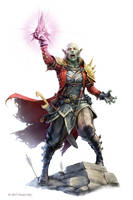 Pathfinder: Azaersi by WillOBrien