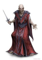 Blackguard Doomspeaker by WillOBrien