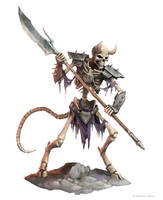 Clacking Skeleton by WillOBrien