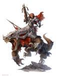 Dragonborn Heavy Cavalry