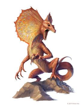 Pathfinder: Giant Frilled Lizard