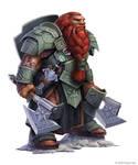 Pathfinder: Five Kings Mountain Dwarf