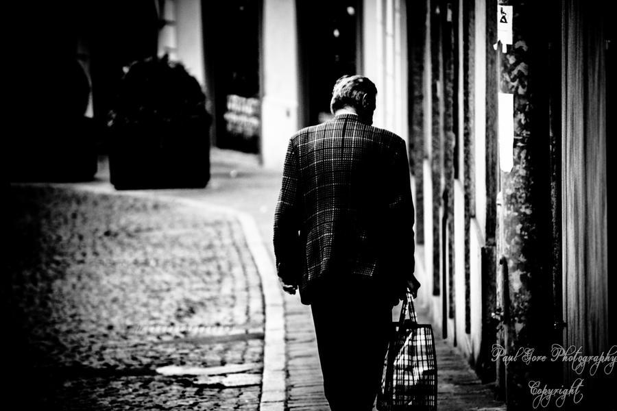 Last man on street by PaulVonGore