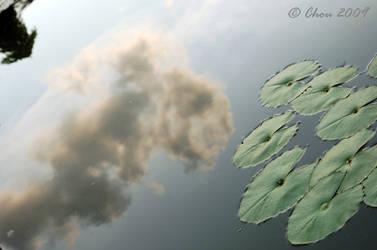 Upon the blue sky by choumajin