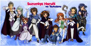 Suzumiya Haruhi no Tsukaima