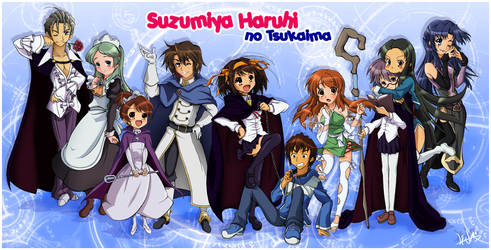 Suzumiya Haruhi no Tsukaima by Lina17Inverse