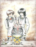 potion-lesson by x-Haru-x